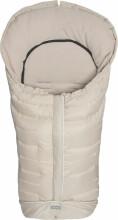 Fillikid Art.8480-09 Kibo Natur Footmuff Dūnu ziemas guļammaiss ratiem ar atpogājamo muguru daļu 100 x 50 cm 71984