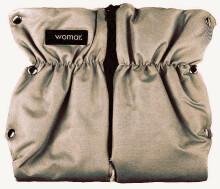 Womar'16 Dark Beige divdaļīgie ratu cimdi ar aitas vilnu 82224