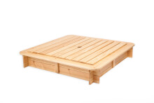 Wood Company Art.91773  Smilšu kaste ar salokāmu vāku 120cm x 120cm